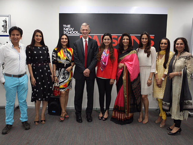 The New School Parsons School Of Design S President David Van Zandt Visits Mumbai The Economic Times