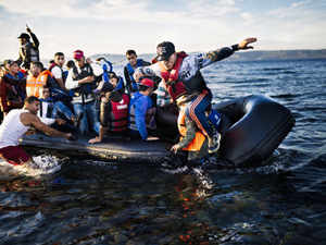 EU border agency Frontex on Tuesday said 710,000 migrants entered the European Union in the first nine months of this year.