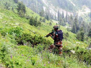 According to Defence spokesman, army personnel observed a suspicious movement of militants along the LoC in Krishnagati sector and challenged them, after which the militants opened fire.
