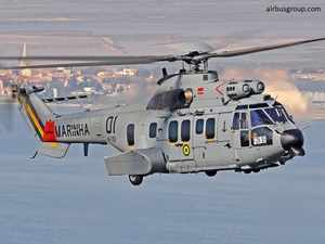 Sources have told ET that Airbus as emerged as the lead bidder for a Rs 2000 crore coast guard competition to procure 14 helicopters. In pic: E 725