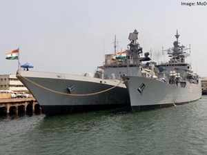The Indian and US navies will jointly conduct the 19th edition of Malabar naval exercise-2015 in the Bay of Bengal from October 14 to October 19.In pic: INS Shivalik
