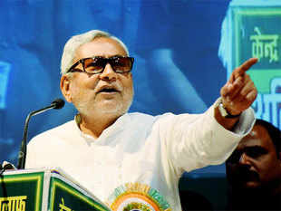 """The insensitivity of ruling class and their efforts to undermine basic ethos and values of our country is extremely worrying,"" Nitish Kumar said in a jibe."