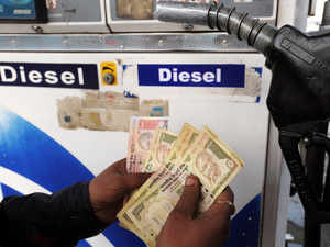 This is the second increase in diesel prices after five straight cuts. The price of diesel was increased by Rs 0.50 a fortnight back.