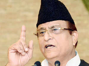 Azam Khan today condemned the lynching of an alleged cow smuggler in Himachal Pradesh and dared Haryana and Punjab governments to ban sale of the animal.