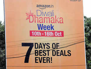 Amazon.in today said shoppers from tier II and tier III cities besides mobile users accounted for major chunk of business during its 'The Great Indian Festive Sale' which concluded on Friday
