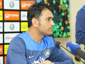 """""""Jinx (Ajinkya Rahane) batted well at No 3 but Virat couldn't score, this is something we will have to look at,"""" Dhoni said."""