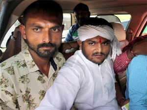 Rajkot police detained the Patel quota agitation leader Hardik Patel ahead of the India-South Africa One-Day International here as he had threatened to disrupt the match.