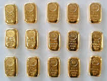 Gold prices today eased below the Rs 27,000-mark by falling Rs 178 to Rs 26,972 per 10 grams in futures trade amid a weak global trend.
