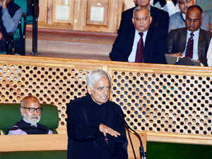 CM Mufti Mohammad Sayeed moved the resolution condemning the October 9 incident in Udhampur district that left two truckers severely injured.