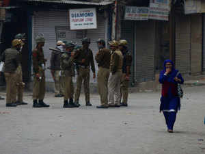Authorities today imposed restrictions in eight areas in Kashmir and placed several separatist leaders under house arrest in view of a strike called in wake of Zahid's death yesterday.
