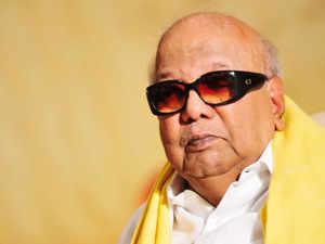 The DMK president M Karunanidhi has indicated today that he endorses the impact of his son M K Stalin's state-wide 'namakku naamey' campaign.