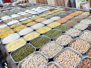 Marketmen attributed fall in pulses prices to a series of measures announced by the government yesterday to intensify anti-hoarding operations.