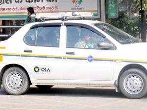 Taxi aggregator Ola is looking at a three-fold rise in the number of daily bookings through its platform to three million by April next year.