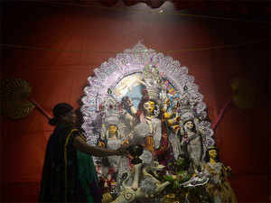 Tarun Gogoi has extended greetings and good wishes to the people and said Durga Puja signifies triumph of truth and righteousness in the struggle of good over evil.