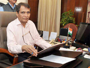 Suresh Prabhu asked PSUs under the ministry to undertake more rail projects while ensuring best practices in tendering process and transparency in functioning.