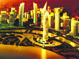 Global financial services hub Gujarat International Finance Tec-City (GIFT City) today said the work on four major projects worth Rs 1,000 crore has started