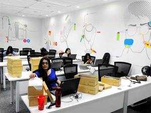Darwinism is playing out in India's office space market. The demand for large offices is moving away from standalone buildings to integrated business parks.