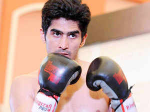 """Vijender Singh will face Englishman Dean Gillen in his second professional bout and the part-time firefighter has promised to be a """"dangerous opponent"""" in the bout scheduled for October 30."""