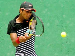 Main draw wild cards have been awarded to Junior Wimbledon doubles champion Sumit Nagal, Vishnu Vardhan, Sriram Balaji and Aryan Goveas.