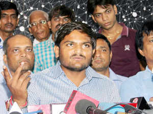 The 22-year-old emerging Patel leader had on October 3 allegedly advised a Surat-based youth from his community to kill cops.