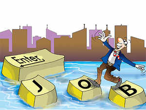 Employment in 8 sectors including IT/BPO, automobiles, gems & jewellery and textile rose by 5.21 lakh last fiscal, said a government report.