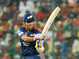 """""""Didn't see Viv Richards bat in person but I can proudly say I have witnessed Virender Sehwag tearing apart the best bowling attacks,"""" Dhoni wrote."""