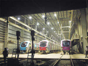 Mumbai Metro Rail Corporation which is implementing the Colaba-Bandra-Seepz underground metro corridor today launched its website.