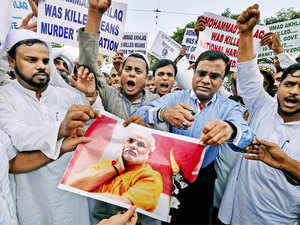 """Citing the """"killings"""" of Sikhs and kar sevaks in Godhra, it questioned those protesting against the Dadri incident saying why those incidents did not evoke their conscience earlier."""