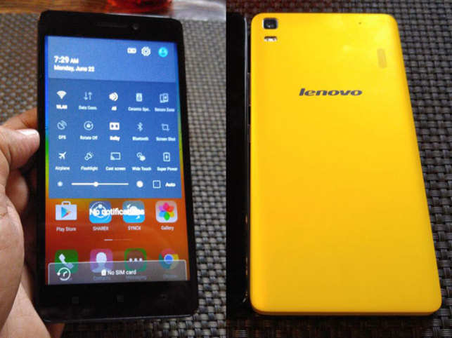 The company will introduce two 4G smartphones – the A6000 Shot at Rs 9,999, and the K3Note Music, an upgrade of the K3 Note, at Rs 12,999. (In pic: Lenovo K3 Note)