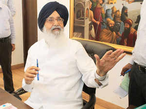 """""""Both Badal and Sukhbir have completely failed in their task of keeping peace in Punjab,"""" Bajwa, who was flanked by five other party MLAs and MP Ravneet Singh Bittu, charged."""