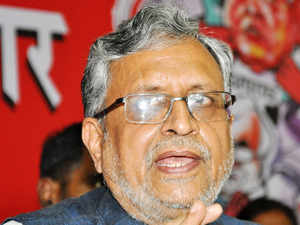 BJP leader Sushil Kumar Modi charged Nitish and Lalu with shedding 'fake tears' on Faridabad incident with an eye to get the sizeable votes of dalits in Bihar polls.