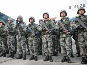 The 10-day drills with 175 troops from each side will formally end tomorrow with Chinese troops joining their Indian counterparts to celebrate Dussehra festival.
