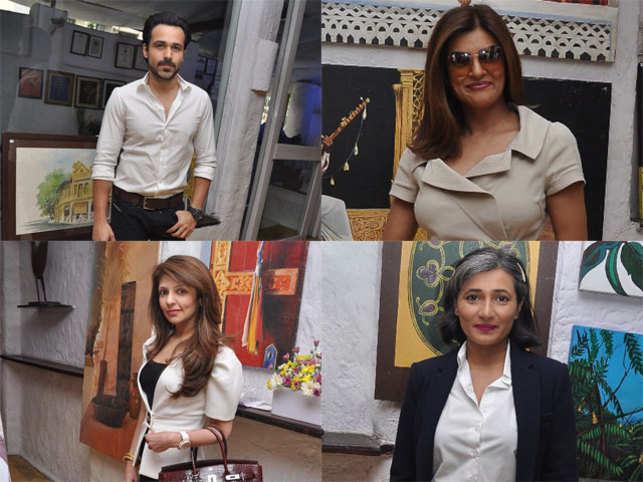 Guests at the event included Smita Thackeray, Zayed Khan, Kaykasshan Patel, Sushmita Sen, Emraan Hashmi, Vikas Bahl and Sangeeta Singh.