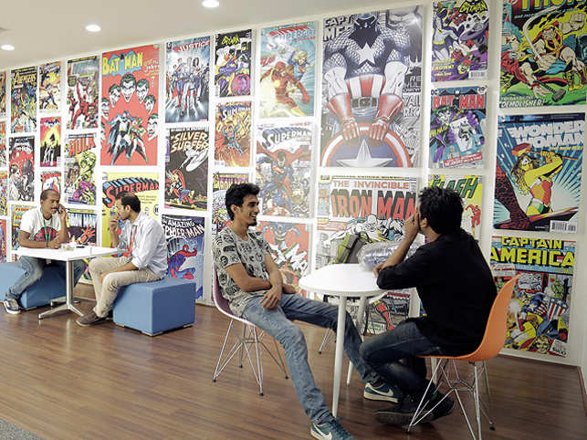 Myntra.com co-founder Mukesh Bansal wanted the new office to spell fashion to anyone who entered it.