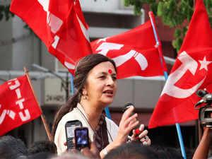 """Brinda Karat described Singh's remarks as """"arrogance of casteism"""" and demanded registration of a criminal case against him."""