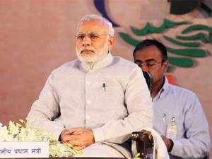 """PM Modi today accused it of creating tension between Andhra Pradesh and Telangana by """"spreading poison"""" and instigating youth."""