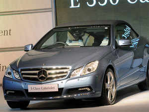 Luxury car maker Mercedes-Benz today said India's Ministry of External Affairs (MEA) has placed an order to lease 55 top of the range E 250 CDI luxury sedans.