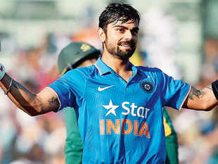 It was Kohli's 140-ball 138 that trumped de Villiers's 112 off 107, as India kept the series alive with a 35-run victory in the fourth One-Day International.