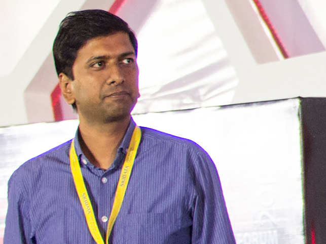 Alok Goel, MD of SAIF Partners, lost 15-20 kilos after he heard a TEDTalk about the perils of eating sugar while he worked at Google's US office. (Image: Nishikant Gamre)