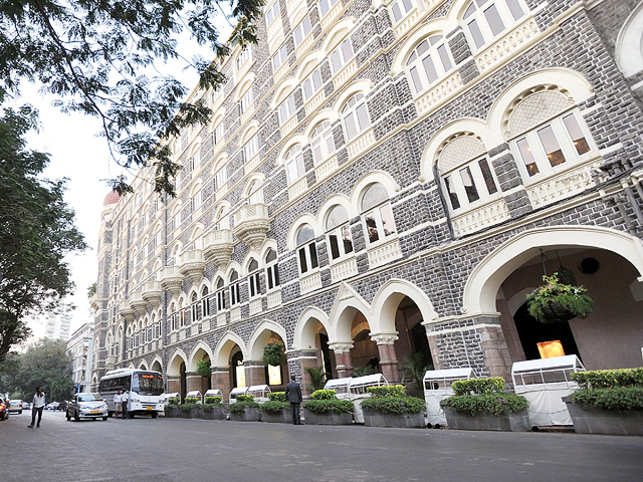 The BMC had sent a final payment notice to The Taj Mahal palace hotel in South Mumbai for its utilisation of a public footpath. (Image: KK Choudhari)