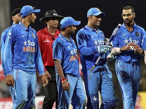 India posted 299 for eight and then restricted the South Africa to 264 for nine to win by 35 runs and level the five-match ODI series 2-2.