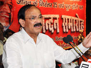 """Dismissing opposition's allegations, Union Minister M Venkaiah Naidu said the Centre is helping Andhra Pradesh and also Telangana in a """"continuous manner""""."""