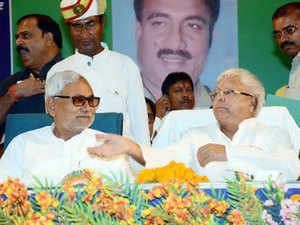 The Nitish Kumar-Lalu Yadav bonhomie is the talking point of Bihar elections with the BJP wondering how the two men who have been bitterly critical of each other for years can now sing paeans to each other.