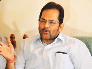 """""""People holding responsible positions ought to choose their words carefully. I do not approve his (Singh's) statement about which questions are being raised,"""" Naqvi said."""
