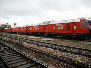A 42 wagon fertilser goods train will be run on the newly converted Broad gauge line between Palakkad town and Pollachi junction to test load tolerance, Southern Railway said today.