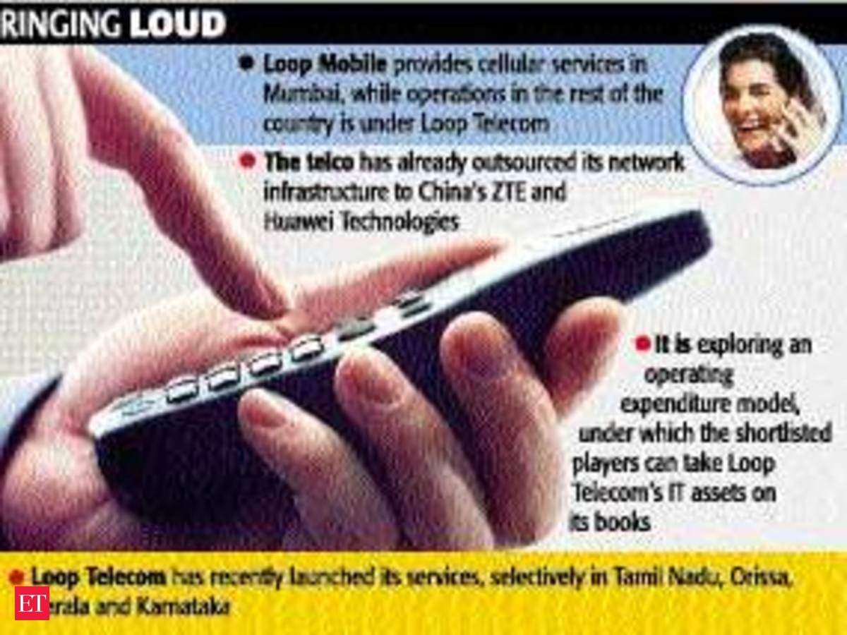 TechM, Wipro, IBM vie for $400-m Loop Tele deal - The Economic Times