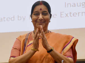 """""""India, Africa and other developing countries will have to work hand-in-hand to ensure that our development agenda is not affected,"""" Swaraj said."""
