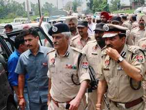 """""""Saini has been transferred,"""" Punjab home secretary Jagpal Sandhu told PTI, adding that he was given the new charge as Chairman of Police Housing Corporation."""