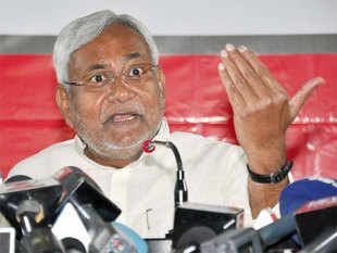 """Nitish Kumar hit back dubbing Modi an """"autocrat"""" and said he and BJP chief Amit Shah have been rattled by feedback of an imminent defeat in the Bihar Assembly polls"""