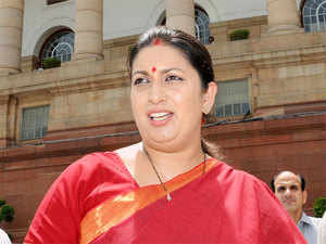 Putting an end to the anxiety among PHD aspirants, HRD minister Smriti Irani today made it clear that the non-NET fellowship is not being discontinued.